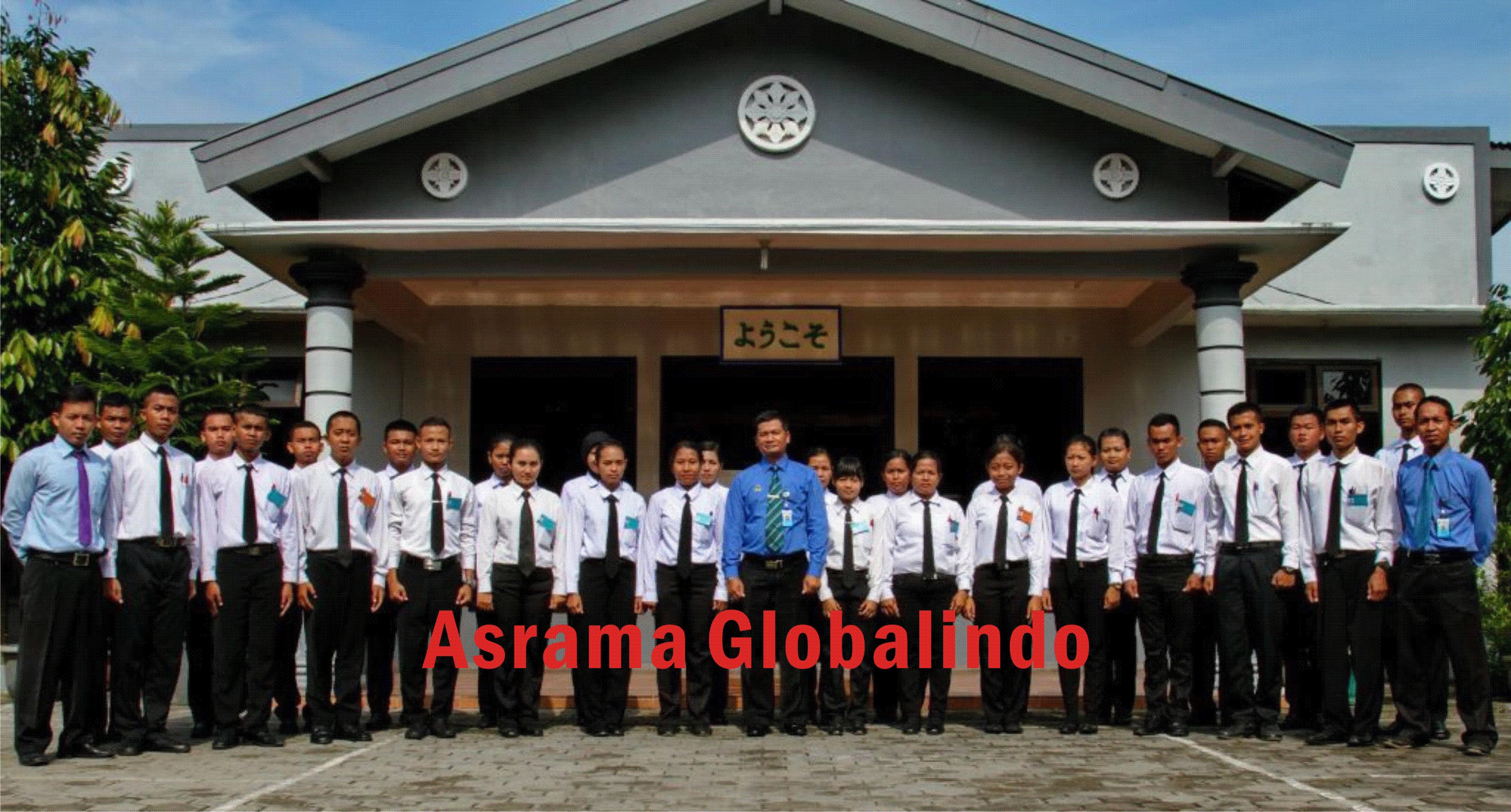 gedung asrama Program magang Jepang