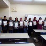 Penghargaan Telah Bekerja Keras Selama Mengikuti Pelajaran